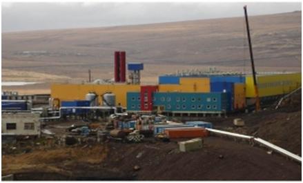 Угольная водогрейная отопительная котельная РФ, Чукотский АО, п. Угольные Копи