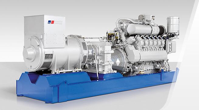 MTU 4000 / биогаз / 50 Гц / 800 – 1950 кВт